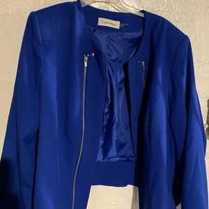 Calvin Klein Blue womens blazer/Jacket